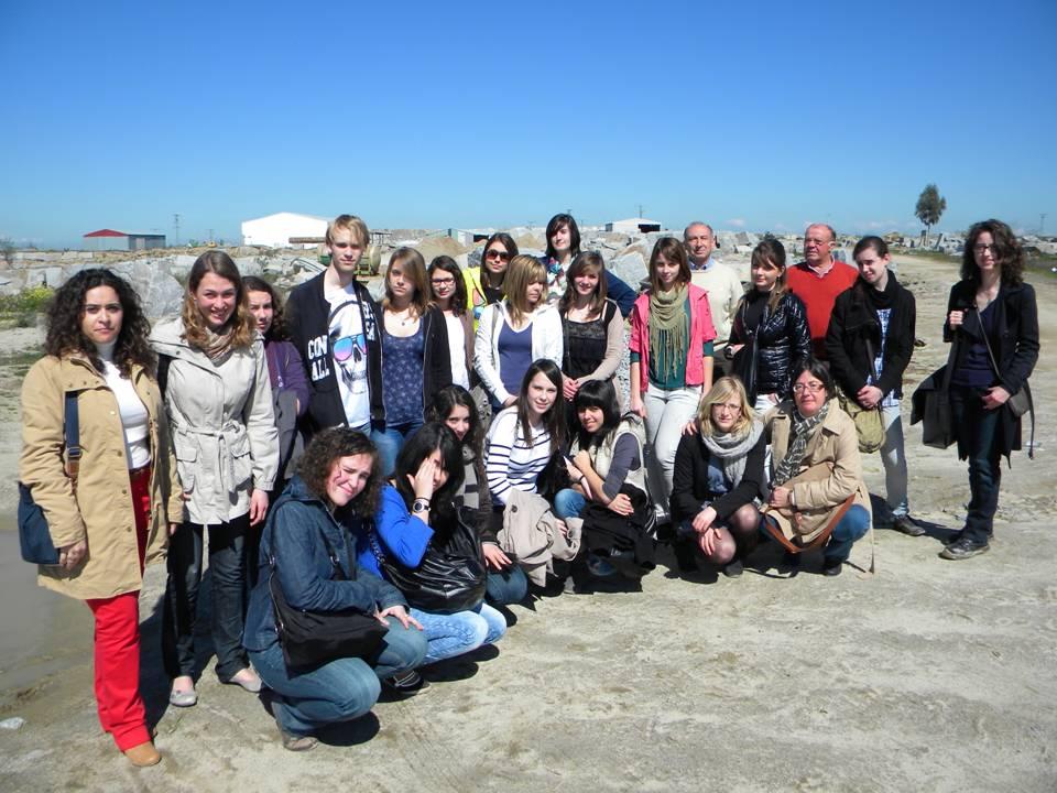 Jóvenes franceses conviven con familias de Quintana en un programa de intercambio