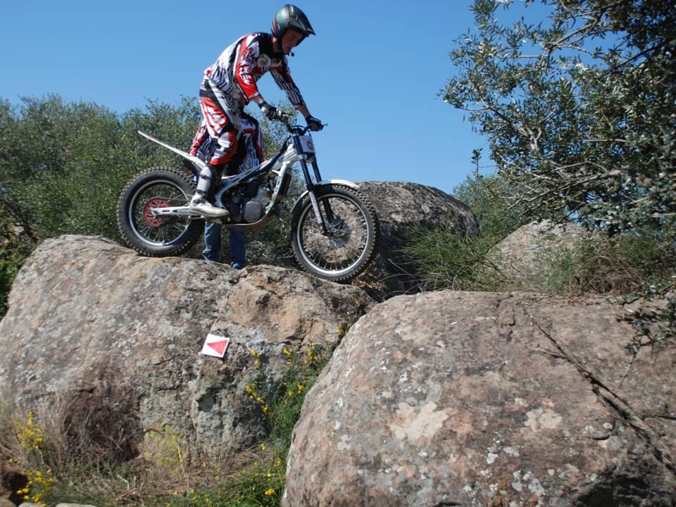 Celebrada con éxito la prueba del campeonato de Extremadura de trial
