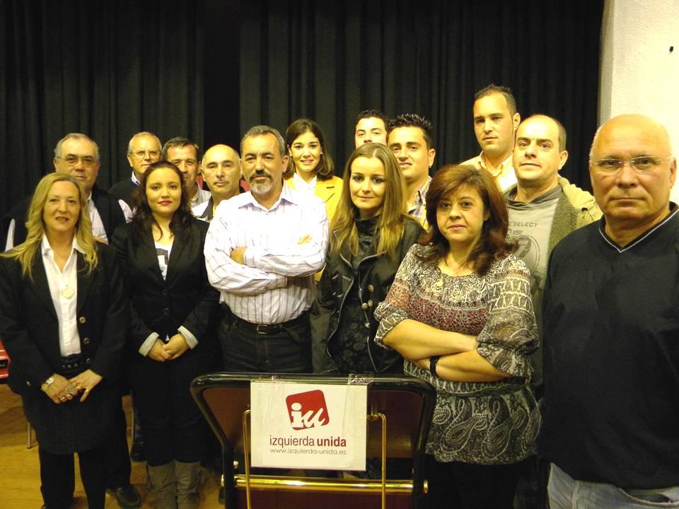 Juan Pedro García repite como candidato a la alcaldía por IU