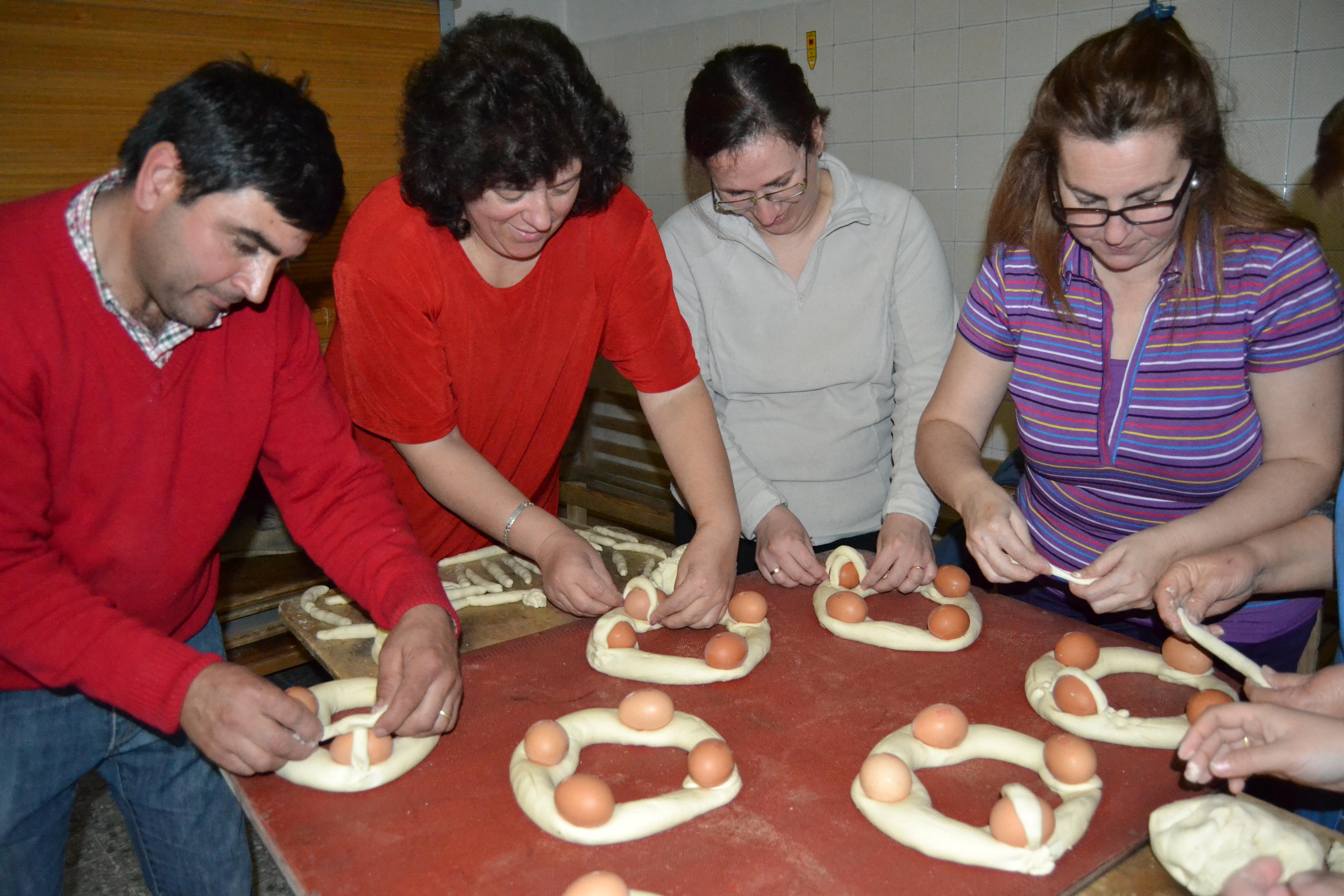 Proceso de elaboración de los rosquetes