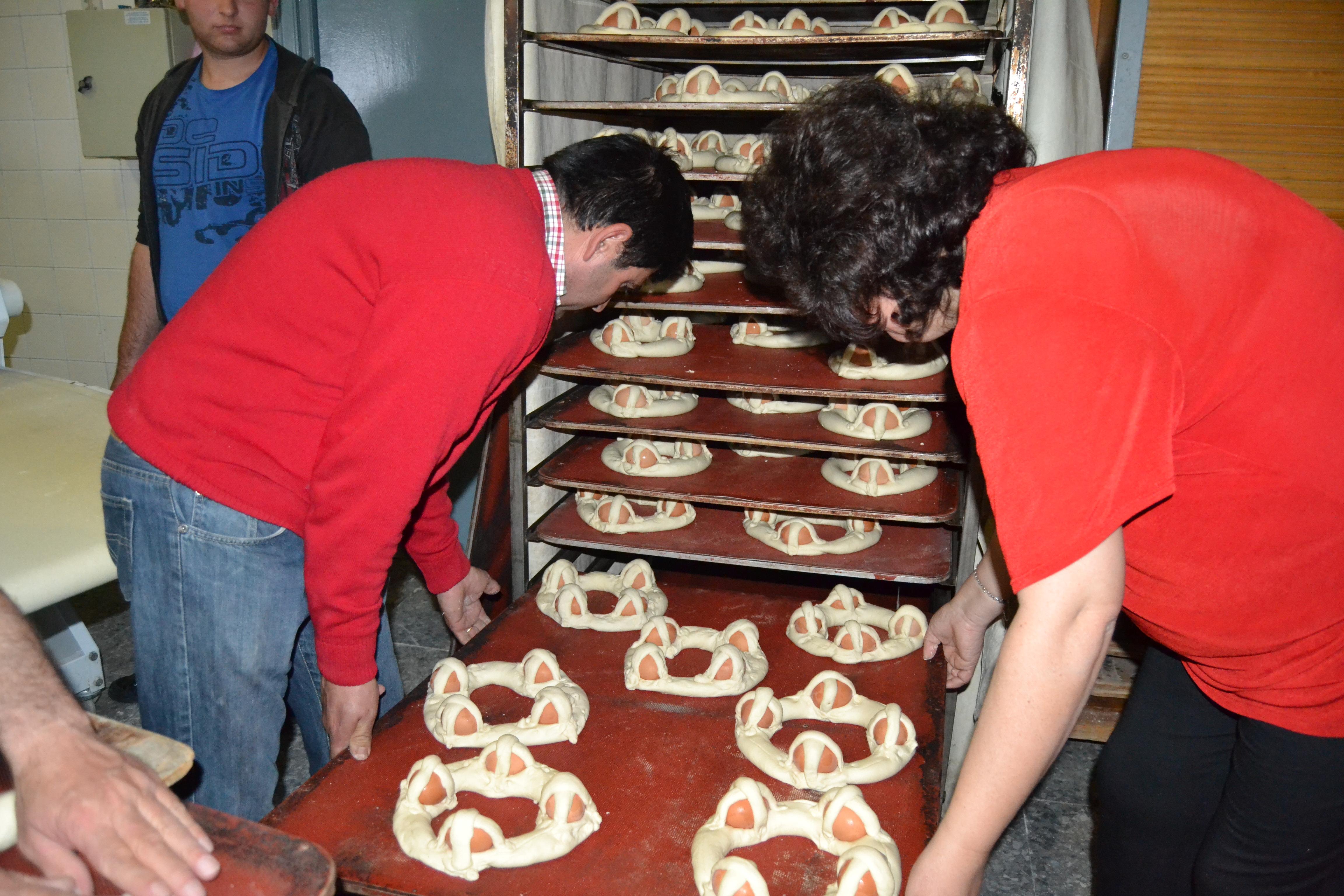 Proceso de elaboración de rosquetes