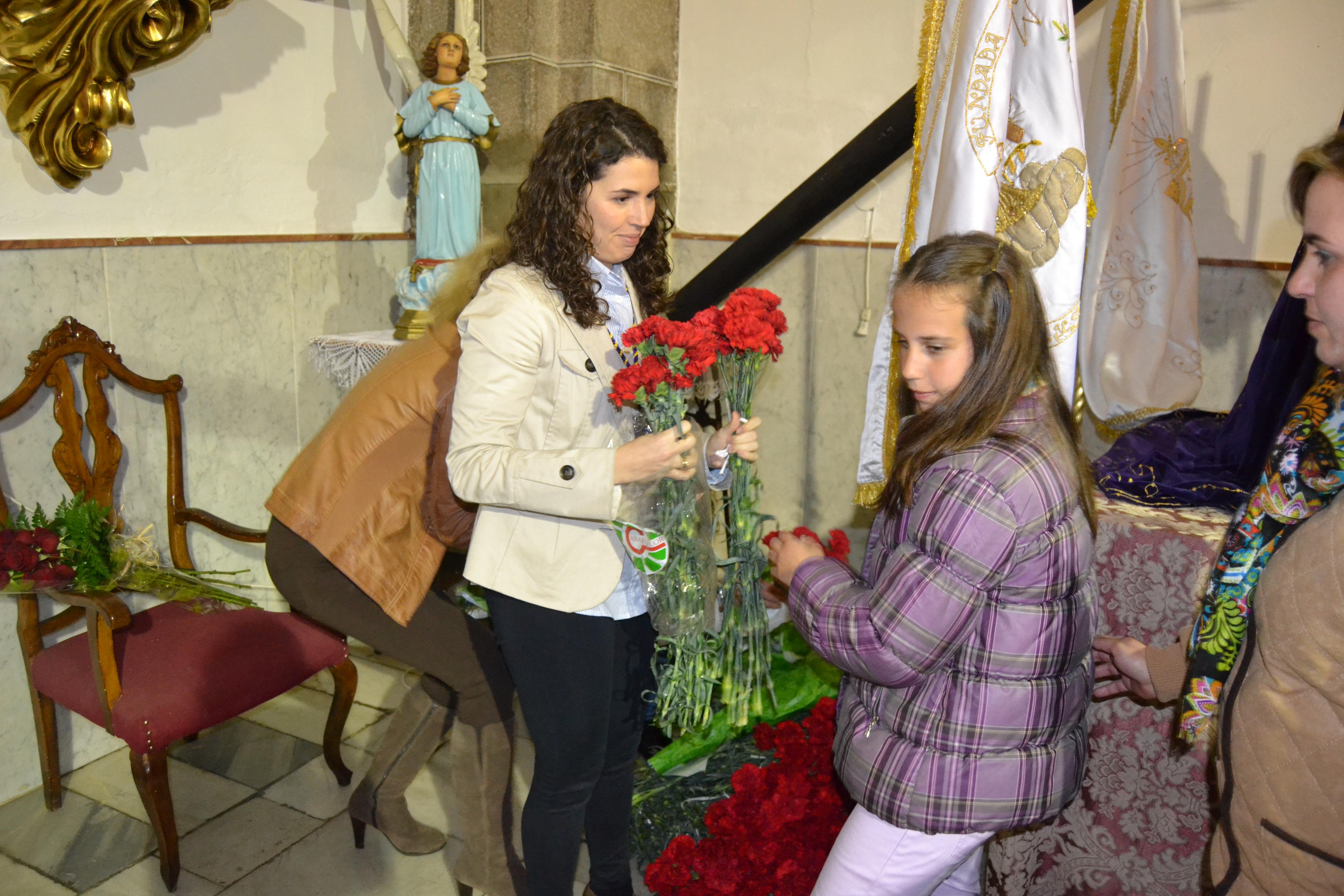 Ofrenda floral Jesús Nazareno
